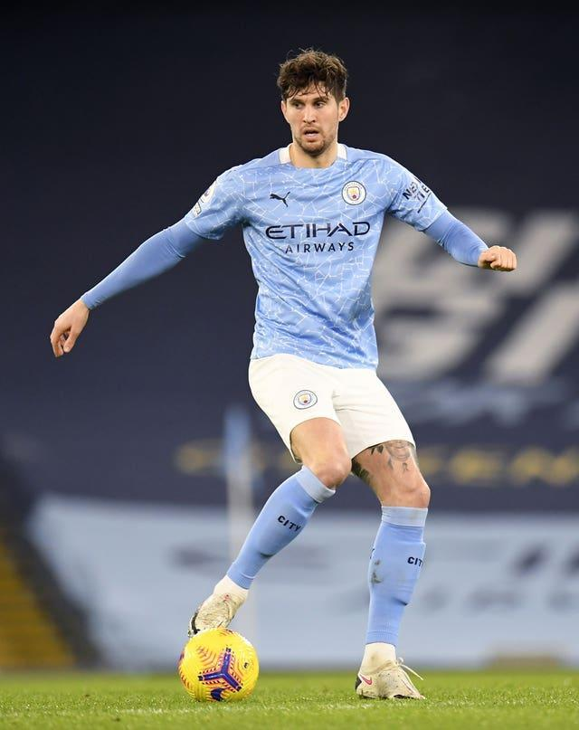 City defender John Stones is currently sidelined