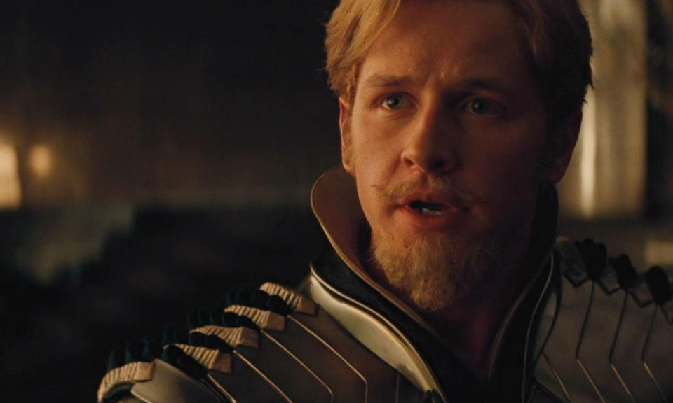 <p>Dallas played the Asgardian warrior in the 2011's<em> Thor</em> movie but he had to step down from the role because of his commitment to ABC's <em>Once Upon a Time</em>. He was replaced by Zachary Levi who has since gone on to play DC's<em> Shazam!, </em>and Fandral got unceremoniously killed off in <em>Thor: Ragnarok.</em> </p>