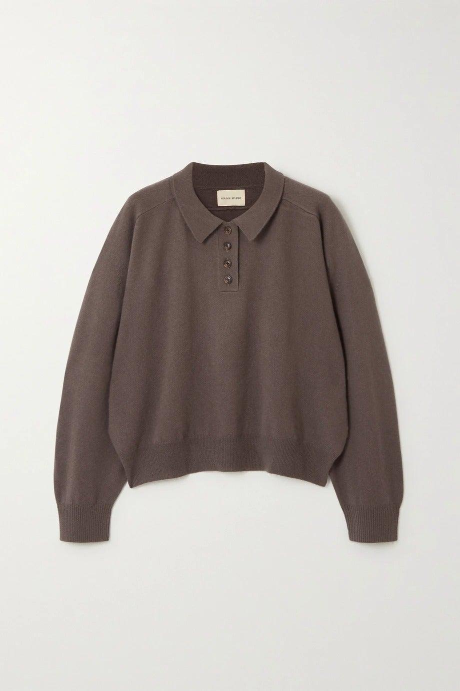 """<br><br><strong>LOULOU STUDIO</strong> Forana Cashmere Sweater, $, available at <a href=""""https://www.net-a-porter.com/en-gb/shop/product/loulou-studio/forana-cashmere-sweater/1265905"""" rel=""""nofollow noopener"""" target=""""_blank"""" data-ylk=""""slk:Net-A-Porter"""" class=""""link rapid-noclick-resp"""">Net-A-Porter</a>"""
