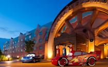 """<p>This hotel themed to Disney's film repertoire leans towards the higher end of value-priced properties, but with good reason. Themed character suites are instant crowd-pleasers, outshined only by the <a href=""""https://disneyworld.disney.go.com/en_CA/resorts/art-of-animation-resort/"""" rel=""""nofollow noopener"""" target=""""_blank"""" data-ylk=""""slk:larger-than-life character sculptures"""" class=""""link rapid-noclick-resp"""">larger-than-life character sculptures</a> outside each room. With a <i>Finding Nemo</i> pool, eye-popping <em>The Lion King</em> and <em>Cars</em> decor, and access to attractions like <a href=""""https://www.travelandleisure.com/trip-ideas/disney-vacations/what-not-to-miss-at-disney-world-star-wars-galaxys-edge-guide"""" rel=""""nofollow noopener"""" target=""""_blank"""" data-ylk=""""slk:Star Wars: Galaxy's Edge"""" class=""""link rapid-noclick-resp"""">Star Wars: Galaxy's Edge</a> and Toy Story Land via the Disney Skyliner, it offers an immersive plunge into Disney and Pixar's most popular films with familiar faces around every turn.</p>"""