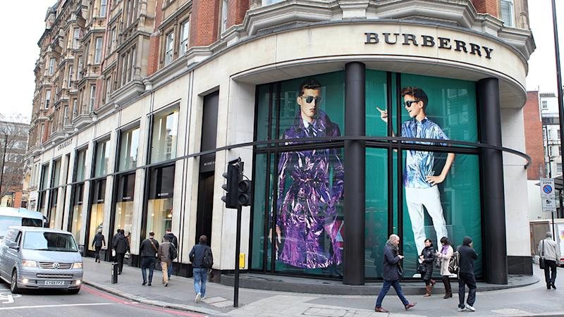 Romeo Beckham photographs in the Burberry shop windowsRomeo Beckham photographs in the windows of the Burberry store, Knightsbridge, London, Britain - 08 Jan 2013