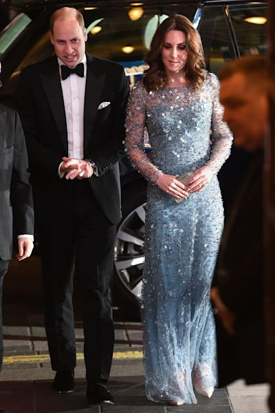 The pregnant royal could not have looked more effortless.