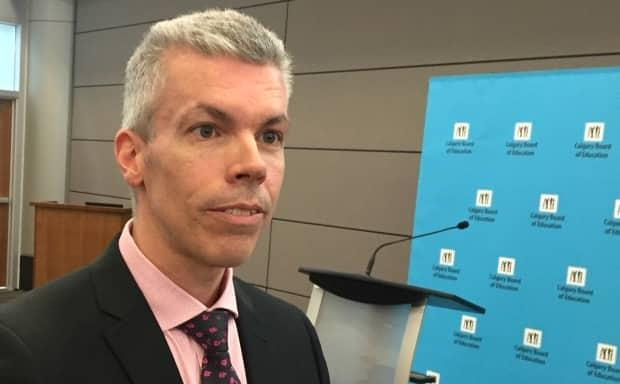 Dany Breton, CBE's superintendent of facilities, says the modernization of John G. Diefenbaker High School could see students moved to adjacent schools with available space.
