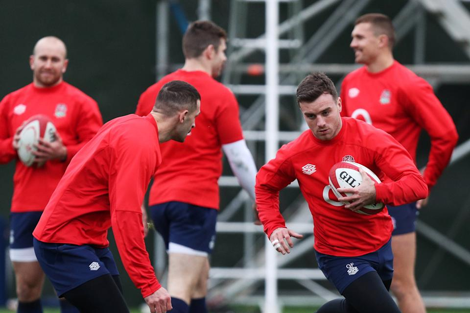<p>George Ford is back in the England starting XV against Wales</p>REUTERS