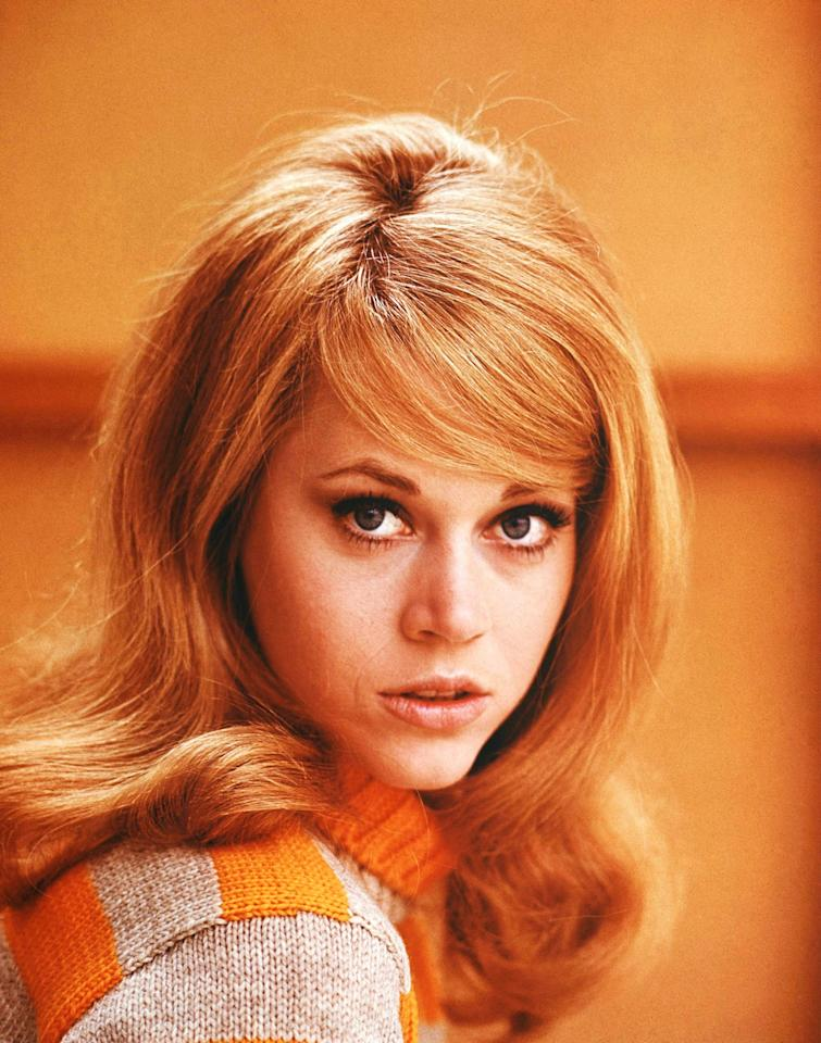 No. 9: Actress Jane Fonda, seen here in 1965. (AP Photo)