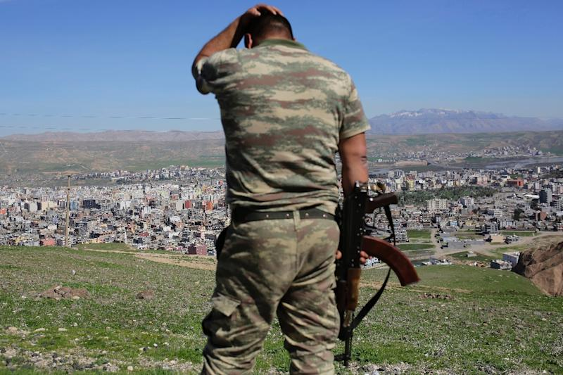The early morning blast almost completely destroyed the police headquarters in the southeastern Turkish town of Cizre, just north of the Syrian border and close to northwestern Iraq