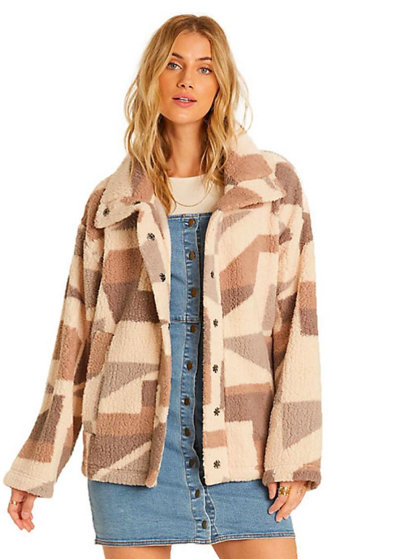 """As temps continue to fall, you can stay warm in this polar fleece sherpa jacket from Billabong—just be warned that reviewers were forced to add another color to cart once they discovered its greatness. $38, Amazon. <a href=""""https://www.amazon.com/Billabong-Womens-Sherpa-Jacket-Carmel/dp/B07QQ6TPQP/"""" rel=""""nofollow noopener"""" target=""""_blank"""" data-ylk=""""slk:Get it now!"""" class=""""link rapid-noclick-resp"""">Get it now!</a>"""