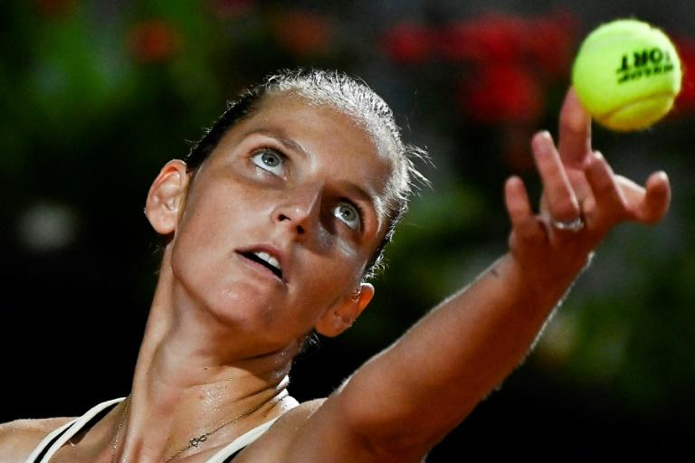 Defending champion Pliskova through, Halep meets Muguruza in Rome semis