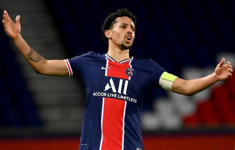 The family home of Marquinhos was burgled during PSG's loss to Nantes