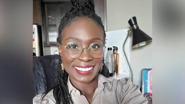 Evelyn Asiedu is the host of a new webinar series called The Good and the Bad of Black Grad. (Submitted by Evelyn Asiedu - image credit)