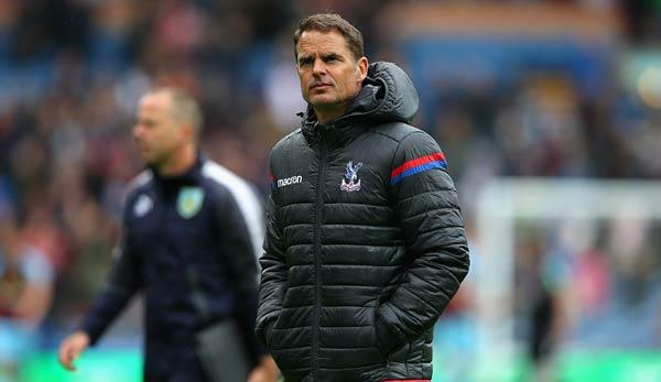 Premier League: Crystal Palace entlässt de Boer