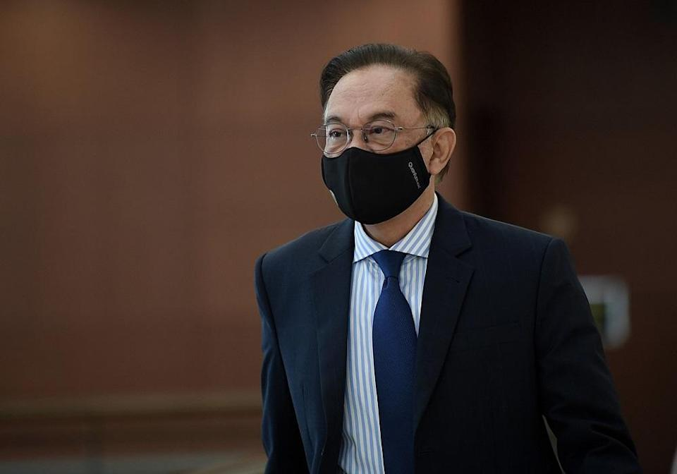 Last Thursday, Anwar directed all Opposition lawmakers to allow the Budget passage in a meeting convened at the very last minute, ditching the initial plan to make the Budget vote a referendum on Muhyiddin's government. — Bernama pic