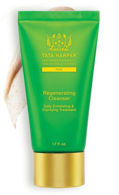 """<a href=""""https://www.tataharperskincare.com/"""" target=""""_blank"""">Tata Harper</a>'s products are handmade in Vermont but contain ingredients sourced from all over the globe; they're natural and nontoxic. Additionally, the majority of the brand's packaging is made of reusable glass, and&nbsp;its plastic is derived from corn&nbsp;instead of petroleum. In terms of packaging, Tata Harper also says it&nbsp;<a href=""""https://www.tataharperskincare.com/journal/gorgeous-and-green/"""" target=""""_blank"""">uses 100 percent post-consumer materials</a> and soy-based ink.<br /><br /><strong>Shop Tata Harper <a href=""""https://www.tataharperskincare.com/"""" target=""""_blank"""">here</a>.&nbsp;</strong>"""