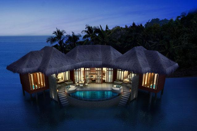 Song Saa Private Island, Cambodia - Its 25 villas fall into three categories—Rainforest, Beach and Overwater—and each comes with its own plunge pool and sundeck overlooking the sea. CNT tip: For an unforgettable honeymoon experience of your own, book an ultra-luxe Overwater Villa. Song Saa Private Island, Cambodia, Koh Ouen, Sihanoukville, Cambodia (www.songsaa.com)
