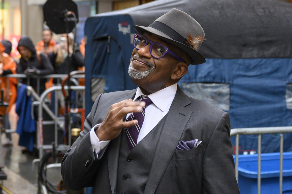 TODAY -- Pictured: (l-r) Al Roker on Friday January 3, 2019 -- (Photo by: Tyler Essary/NBC)