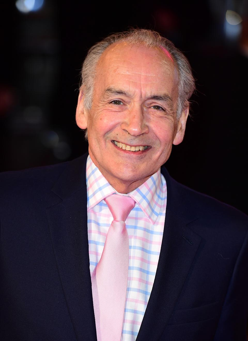 Alastair Stewart attending the ITV Gala at the London Palladium. PRESS ASSOCIATION Photo. Picture date: Thursday November 24, 2016. See PA story SHOWBIZ Gala. Photo credit should read: Ian West/PA Wire