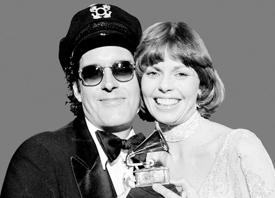 """Singer and pianist Daryl Dragon, left, who was best known as """"The Captain"""" of 1970s soft rock duo Captain and Tennille, died on Jan. 2, 2019 at 76."""