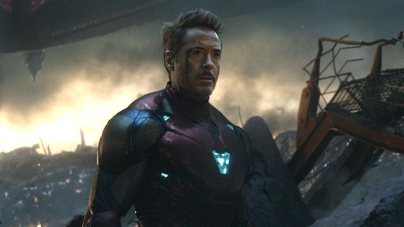 Robert Downey Jr. as Tony Stark in the finale of <i>Avengers: Endgame</i>. (Disney)
