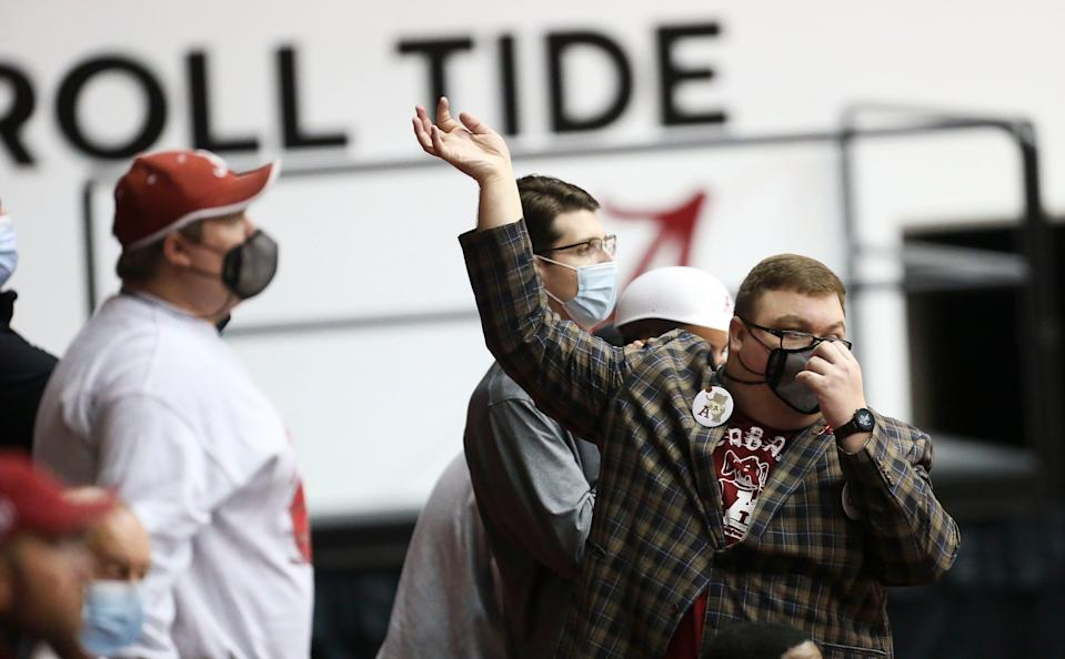 """Luke Ratliff was often the most visible fan at Crimson Tide basketball games.""""When I came to campus, my fandom exploded,"""" he said."""