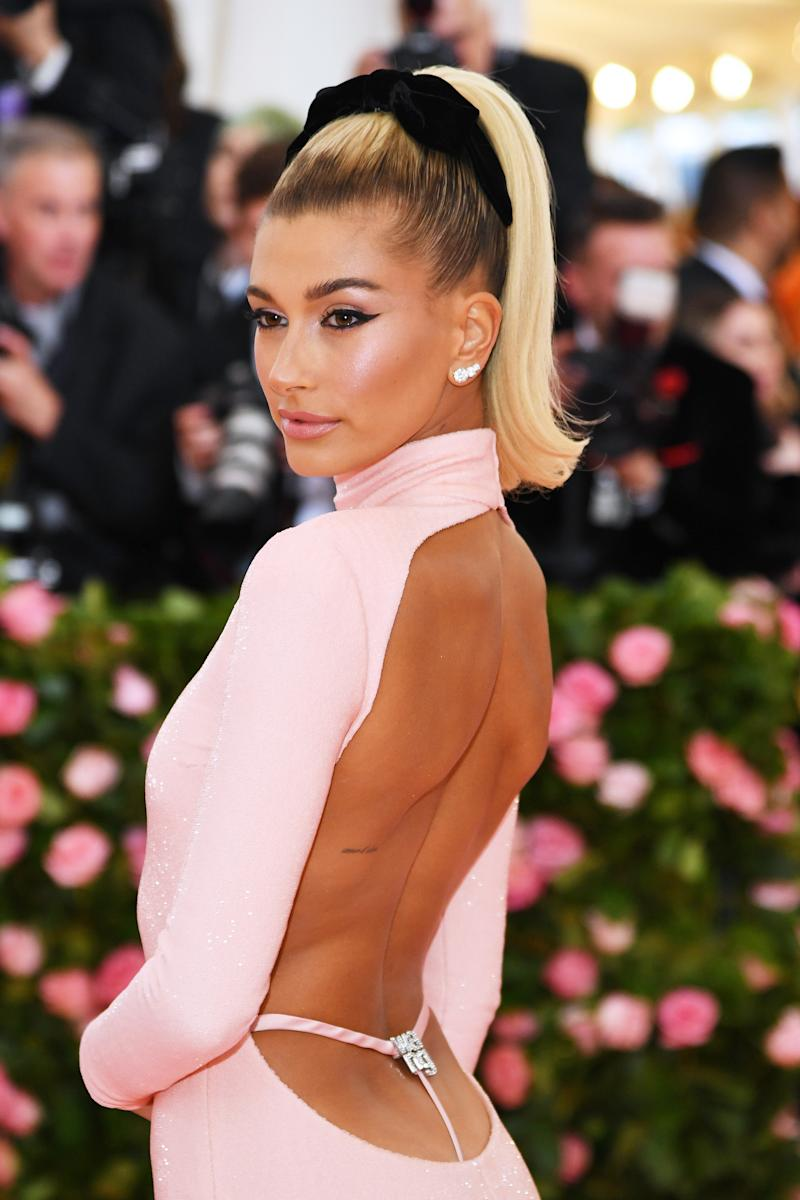 Hailey Bieber bei der MET Gala (Bild: Getty Images)