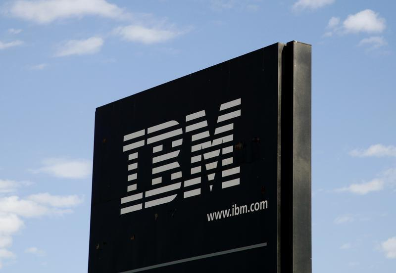 The sign at the IBM facility near Boulder, Colarado