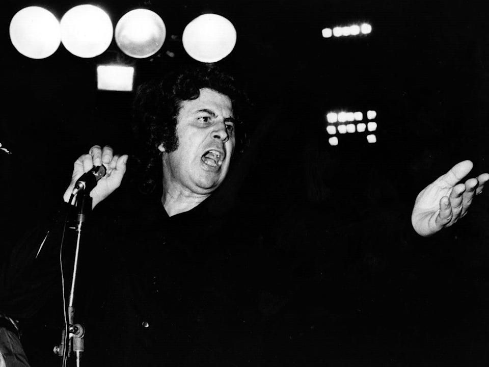 'Always, I have lived with two sounds – one political, one musical,' Theodorakis explained (Getty)