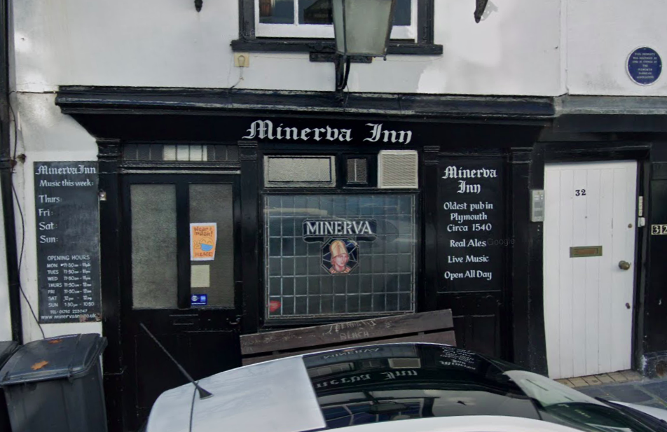 The Minerva Inn in Plymouth is not allowing customers who have not been vaccinated. (Google)