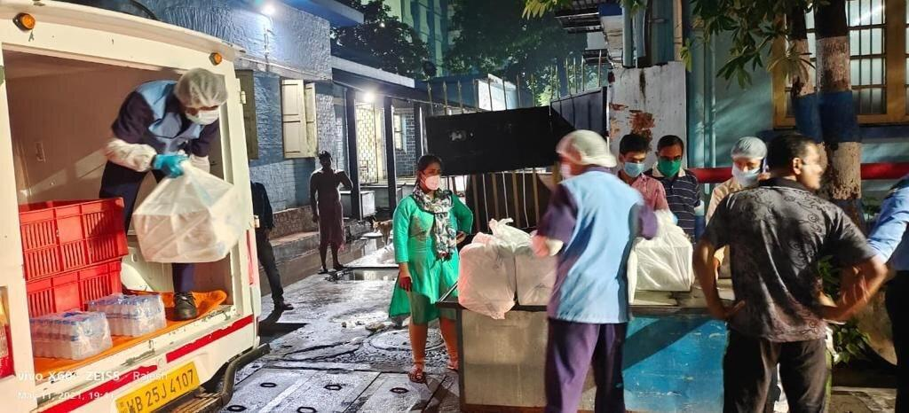 World Central Kitchen shared this from India where they will build the next relief centre. (WCK)