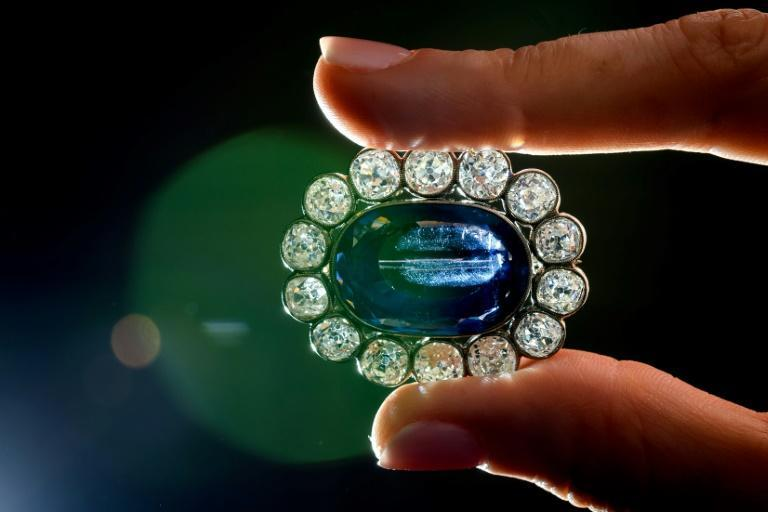 The 55-carat Kashmir sapphire is the biggest to come to auction