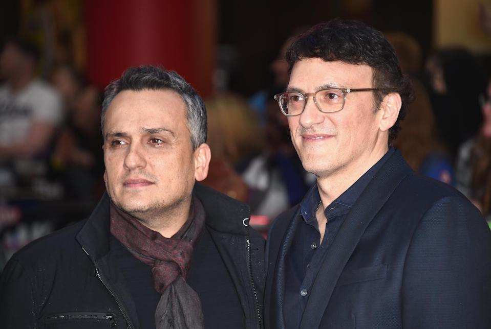 """LONDON, ENGLAND – APRIL 26: Joe Russo and Anthony Russo arrive for UK film premiere """"Captain America: Civil War"""" at Vue Westfield on April 26, 2016 in London, England (Photo by Ian Gavan/Getty Images)"""