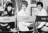 """<p>The actress returned to TV once again for a new CBS show, <em>Here's Lucy</em>. The show, which also starred her two teenage children, Lucie Arnaz and Desi Arnaz Jr., <a href=""""https://www.imdb.com/title/tt0062570/"""" rel=""""nofollow noopener"""" target=""""_blank"""" data-ylk=""""slk:ran for six seasons until 1974"""" class=""""link rapid-noclick-resp"""">ran for six seasons until 1974</a>. </p>"""