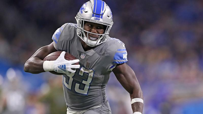 Kerryon Johnson Likely To Miss Time With Knee Injury