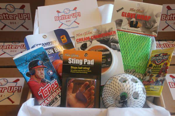 Starts at $30/month. Each month, get a box of training tools and accessories and gear. Choose between baseball, softball, basketball, football or hockey. The age and skill level of each recipient is customized for each box. Get <span>20 percent off your first month with code <strong>BF20</strong></span> at checkout.