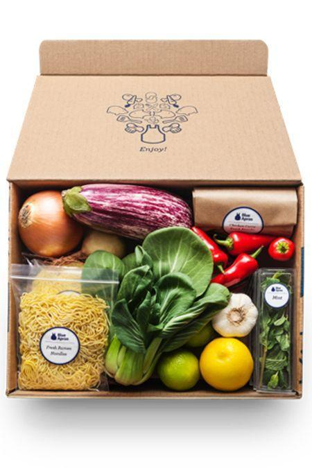"""<p>Moms who enjoy spending time in the kitchen will be inspired by this meal-delivery kit. Ingredients come in perfectly portioned amounts, and also come with step-by-step recipes for making dinnertime magic.<strong><strong><br></strong></strong></p><p><strong>Price:</strong> $10 per serving for a two-person weekly plan</p><p><a class=""""link rapid-noclick-resp"""" href=""""https://go.redirectingat.com?id=74968X1596630&url=https%3A%2F%2Fwww.blueapron.com%2F&sref=https%3A%2F%2Fwww.goodhousekeeping.com%2Fholidays%2Fmothers-day%2Fg31992924%2Fbest-subscription-boxes-for-moms%2F"""" rel=""""nofollow noopener"""" target=""""_blank"""" data-ylk=""""slk:BUY NOW"""">BUY NOW</a></p><p><strong>RELATED:</strong> <a href=""""https://www.goodhousekeeping.com/food-products/g5043/best-monthly-food-subscription-boxes"""" rel=""""nofollow noopener"""" target=""""_blank"""" data-ylk=""""slk:The Tastiest Food Subscription Boxes You'll Want to Sign Up for ASAP"""" class=""""link rapid-noclick-resp"""">The Tastiest Food Subscription Boxes You'll Want to Sign Up for ASAP</a></p>"""