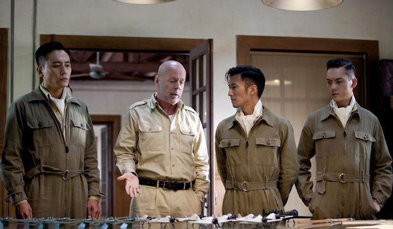 Fan Bingbing, Bruce Willis movie Air Strike cancelled in wake of Chinese star's tax scandal