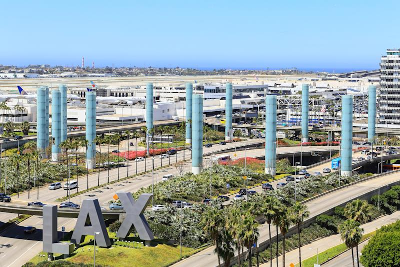 Power outage hits Los Angeles International Airport and nearby polling places