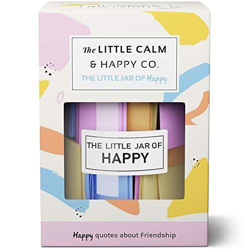 """<p><strong>The Little Calm and Happy Company</strong></p><p>Amazon</p><p><a href=""""https://www.amazon.com/dp/B07SLN9W21?tag=syn-yahoo-20&ascsubtag=%5Bartid%7C10065.g.25616382%5Bsrc%7Cyahoo-us"""" rel=""""nofollow noopener"""" target=""""_blank"""" data-ylk=""""slk:Shop Now"""" class=""""link rapid-noclick-resp"""">Shop Now</a></p><p>Not me weeping as I read what's in this little jar of happy. </p>"""