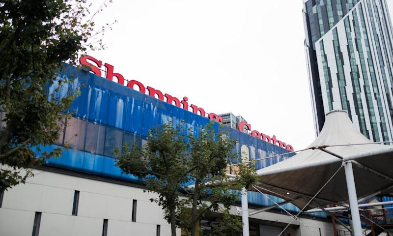 Exterior of Elephant and Castle shopping centre.