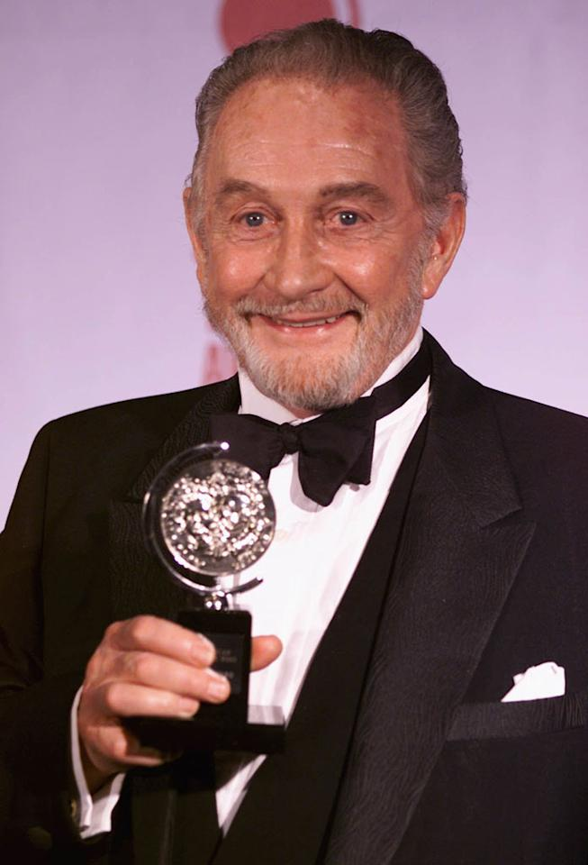 Roy Dotrice plays Hallyne, the pyromancer, who ends up an associate of Tyrion Lannister's.