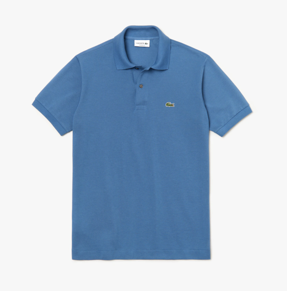"<p><strong>Lacoste</strong></p><p>lacoste.com</p><p><strong>$89.50</strong></p><p><a href=""https://go.redirectingat.com?id=74968X1596630&url=https%3A%2F%2Fwww.lacoste.com%2Fus%2Flacoste%2Fmen%2Fclothing%2Fpolos%2Fmen-s-l.12.12-polo%2FL1212-51.html&sref=https%3A%2F%2Fwww.redbookmag.com%2Ffashion%2Fg32896039%2Fworking-from-home-summer-style%2F"" rel=""nofollow noopener"" target=""_blank"" data-ylk=""slk:Shop Now"" class=""link rapid-noclick-resp"">Shop Now</a></p><p>They say you can't go wrong with the classics and, well, they're right. A Lacoste polo is perfect for any day you don't know what to wear, WFH or otherwise. They're comfortable, go with everything and look great on everyone. Have some fun with your color choice!</p>"