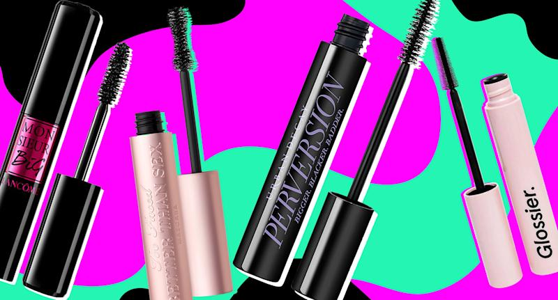 The best mascaras for thicker, longer eyelashes.