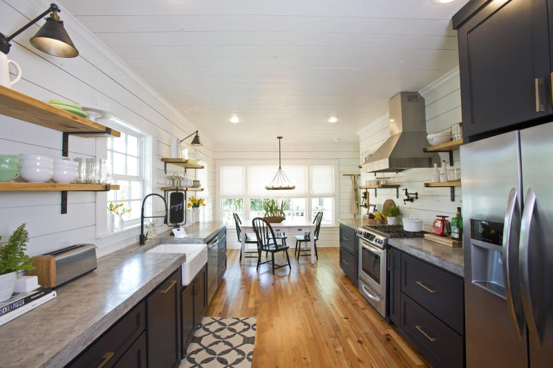 The kitchen of Magnolia House. (Fort Worth Star-Telegram via Getty Images)