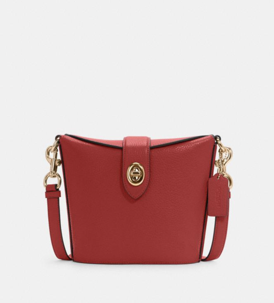 Addie Crossbody in 1941 Red (Photo via Coach Outlet)