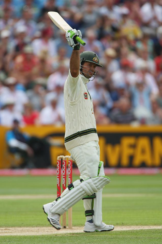 Ponting also joined the elite 11k Test runs club during his innings.