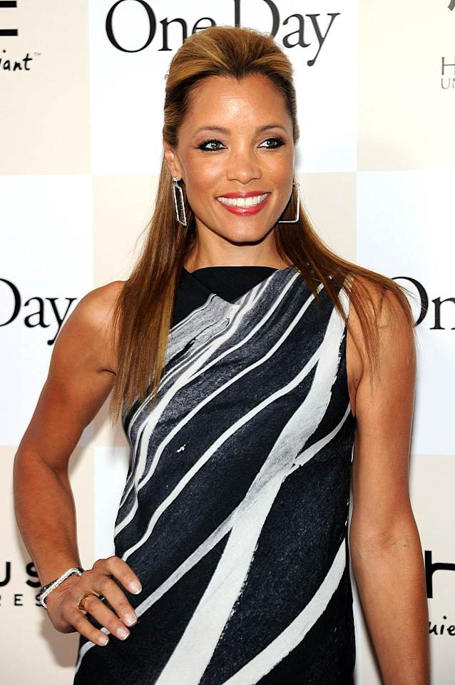 """Michael Michele (""""E.R."""") turns 45. Larry Busacca/<a href=""""http://www.gettyimages.com/"""" target=""""new"""">GettyImages.com</a> - Augustl 8, 2011"""