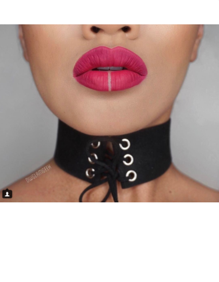 Kim Kardashian may or may not have started this fake lip piercing makeup trend taking over Instagram.