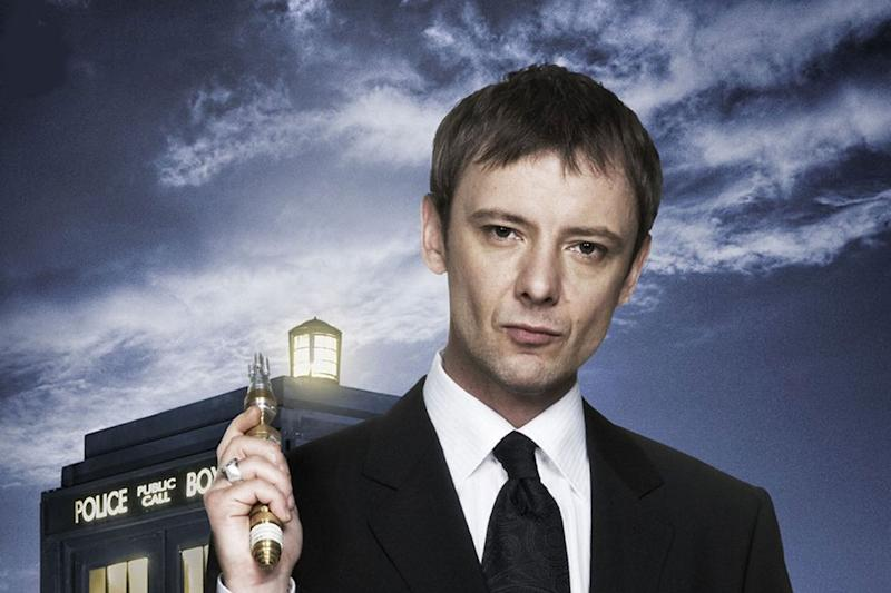 Surprise return: John Simm is back as The Master in the new series of Doctor Who: BBC