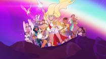 "<p>This excellent version of She-Ra is a little bit more of an action heroine, leading a rebellion against an evil Horde. Don't hold your breath waiting for He-Man to show up — this one is all about the ladies, and it offers a complex, nuanced look into the relationships between the heroes and the villains. The fifth and final season will premiere on May 15.</p><p><a class=""link rapid-noclick-resp"" href=""https://www.netflix.com/title/80179762"" rel=""nofollow noopener"" target=""_blank"" data-ylk=""slk:WATCH NOW"">WATCH NOW</a></p>"