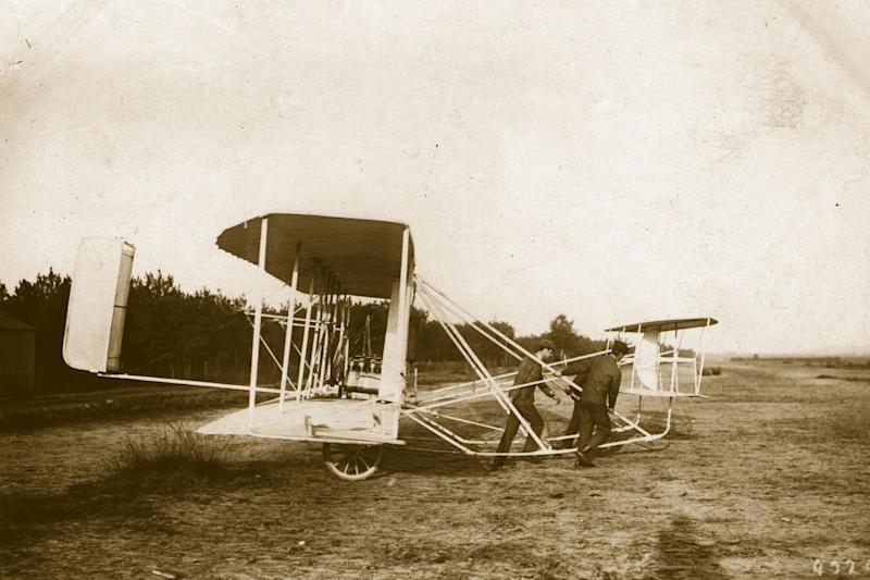 Indian academics have previously claimed that an Indian invented the airplane eight years before the Wright Brothers. (Getty Images)