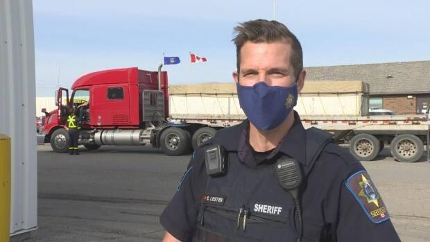 Sheriff Shawn Lester said though most trucks that travel on Alberta highways are safe, there are those that need the attention of an inspection.